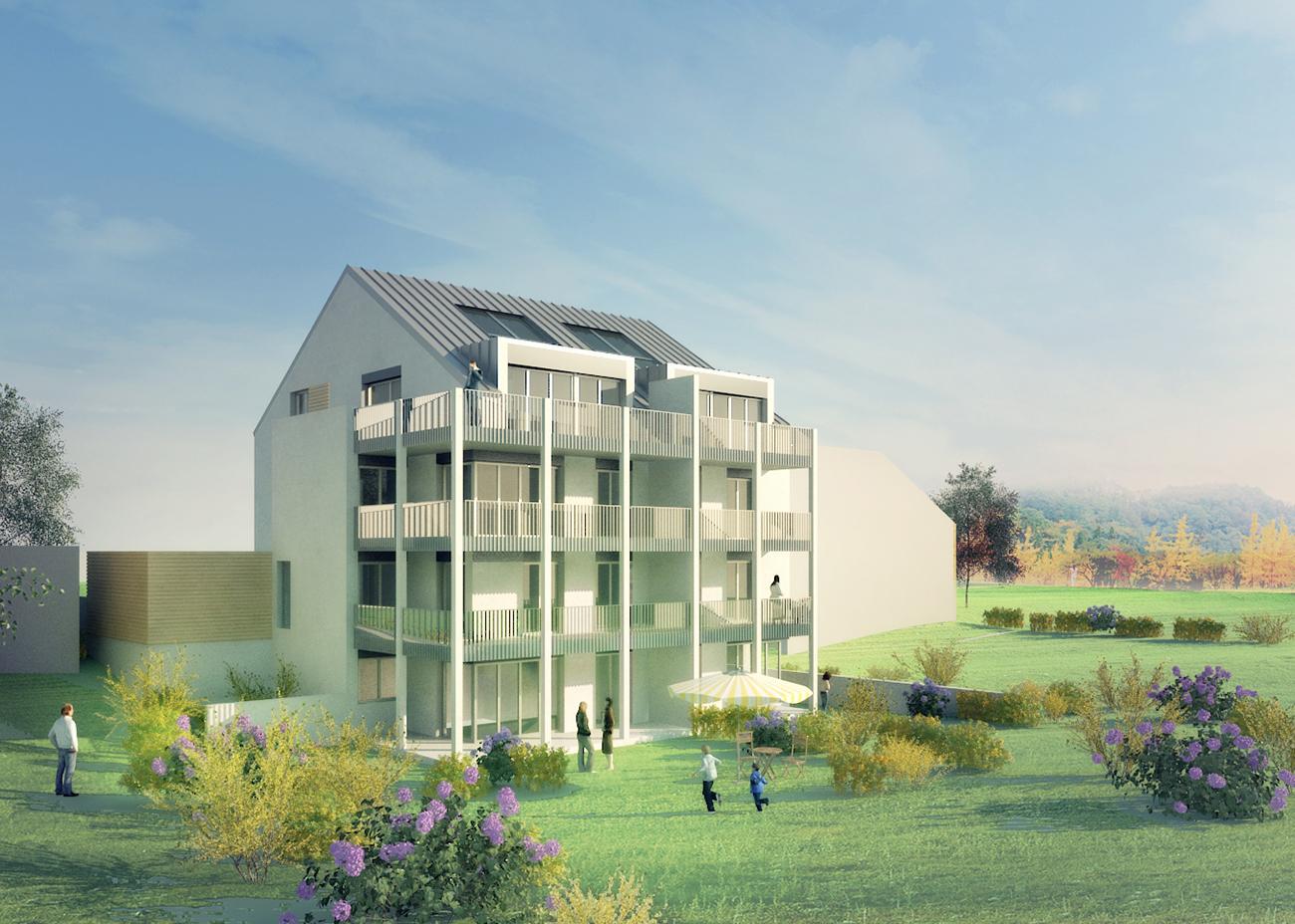Mehrfamilienhaus Nestgasse Konstanz