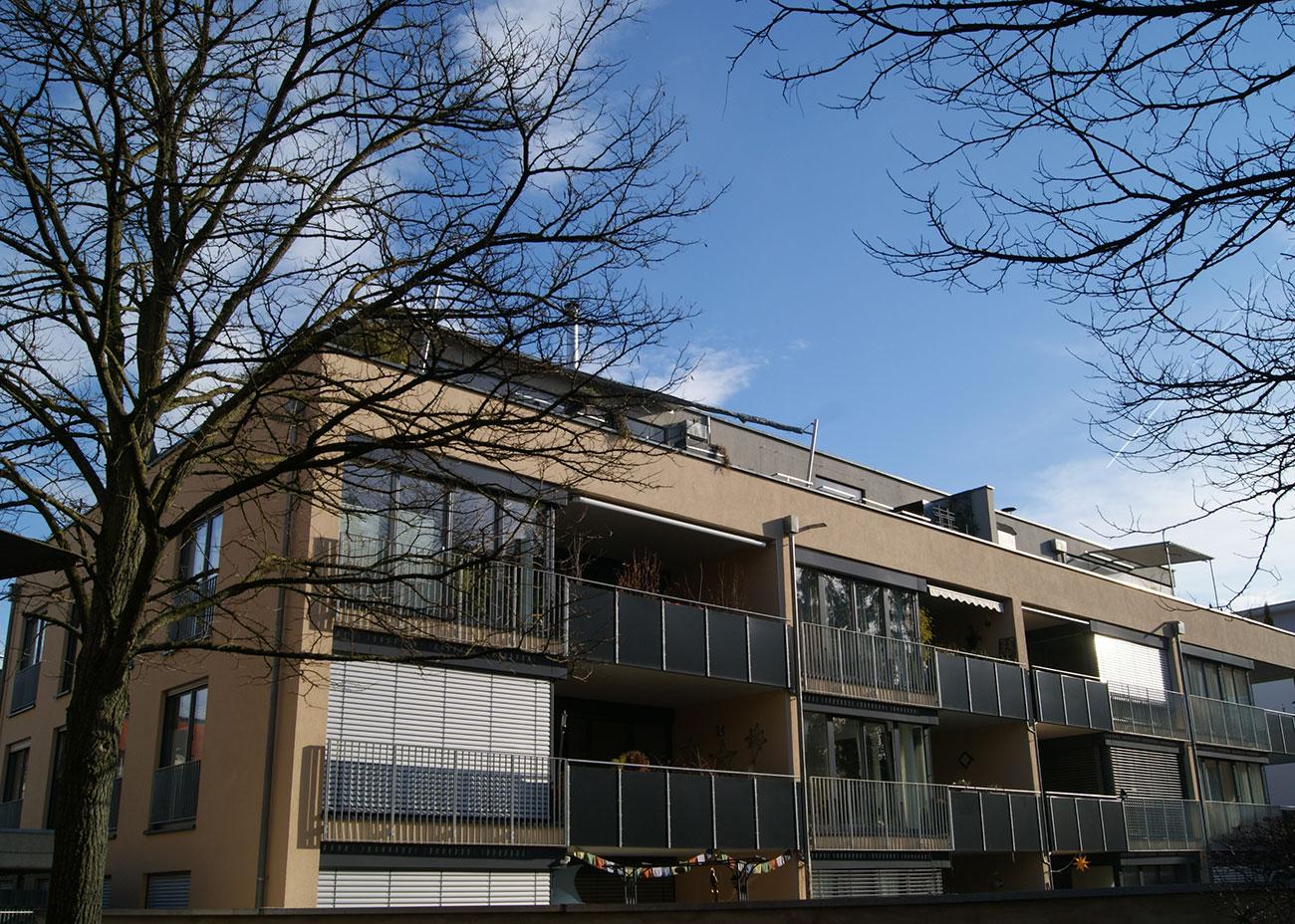 Neubau von zwei Mehrfamilienhäusern Emmishofer Strasse 3a-c, Konstanz