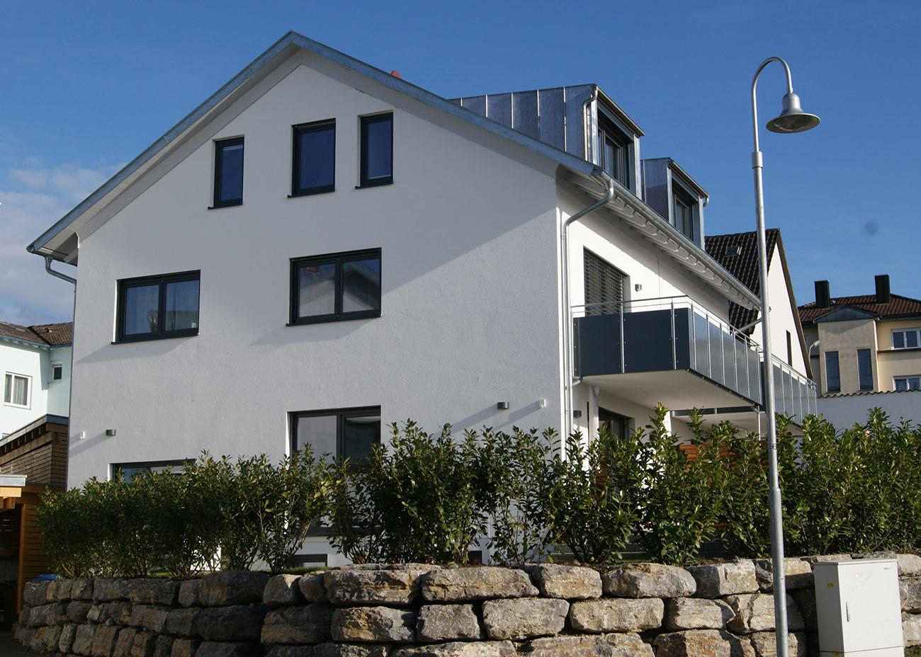 Neubau 6 Doppelhaushälften Zimmererweg 11/13 + 15/17 + 19/21, Konstanz