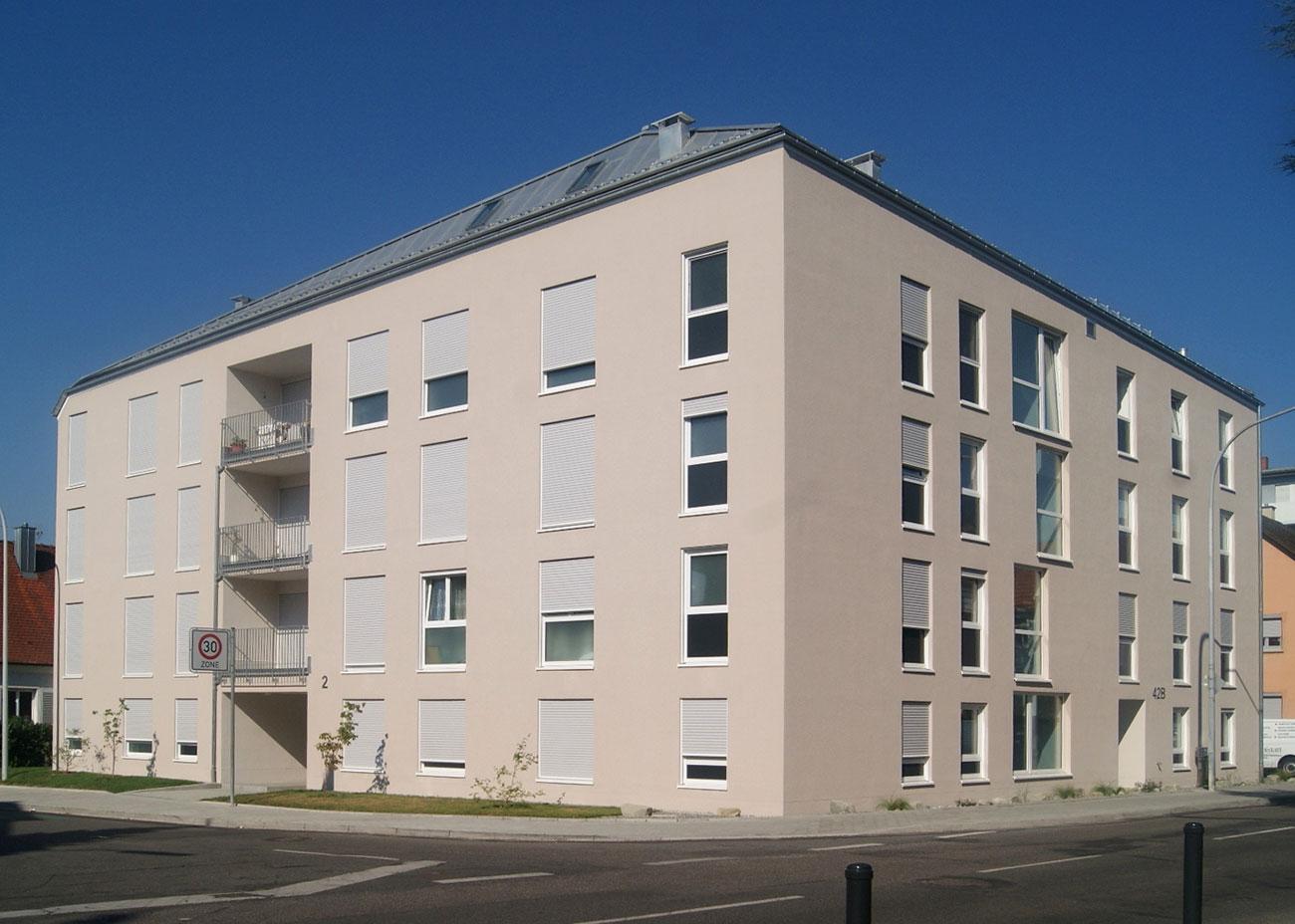 Neubau Mehrfamilienhaus Fürstenberg-/Hardtstrasse, Konstanz