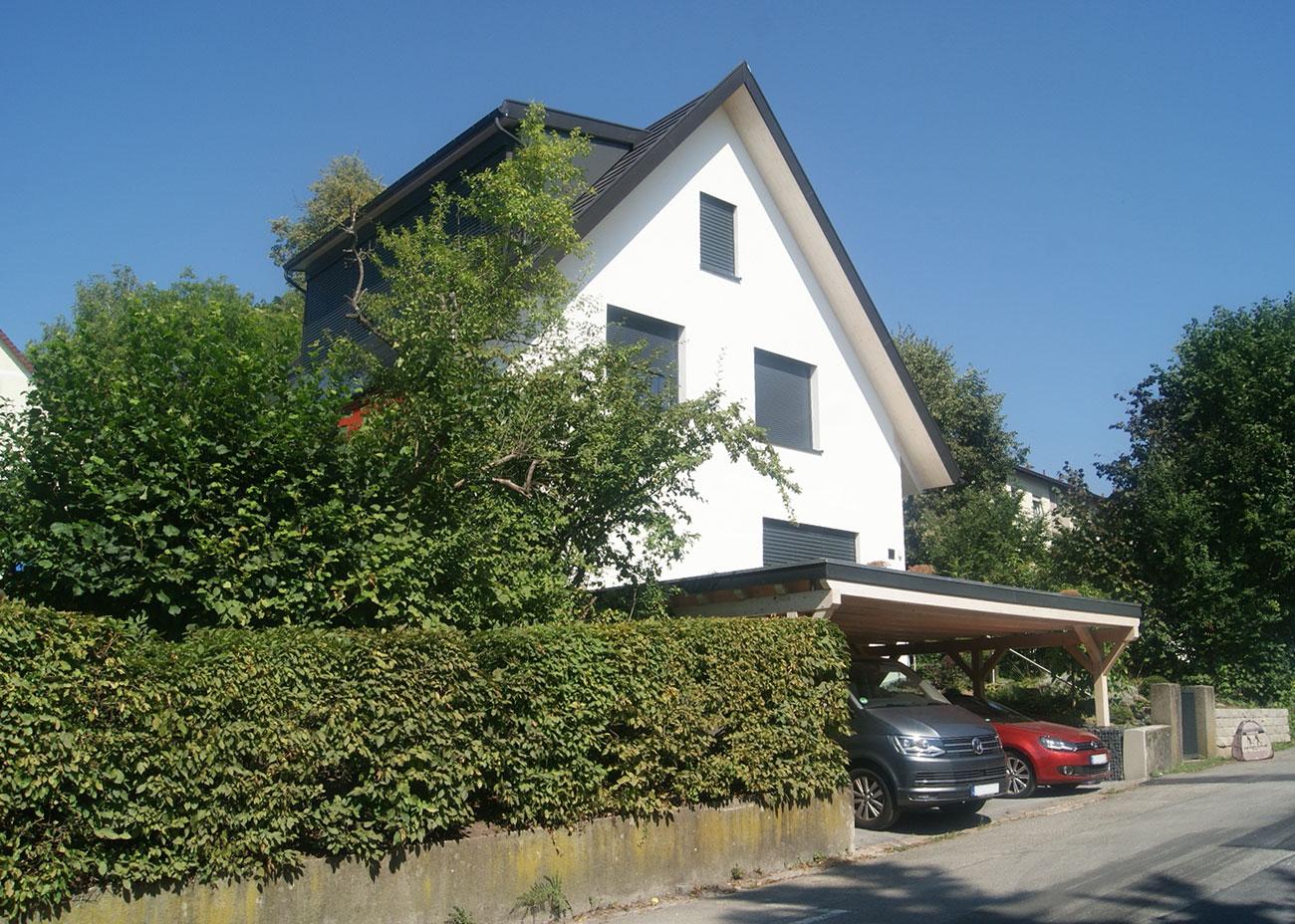 Energetische Sanierung Einfamilienhaus Beyerlestrasse 19 Konstanz